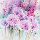 Alliums and Foxgloves by Ruth S Harris