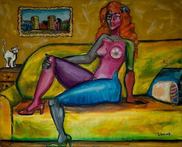 Newfoundland Nude by Libertad Nunez