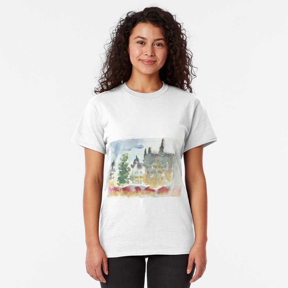 Grand place Christmas Market Classic T-Shirt