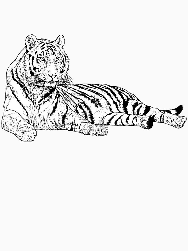 Tiger by Zehda