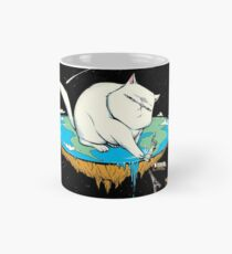 Flat Earth Cat  Mug