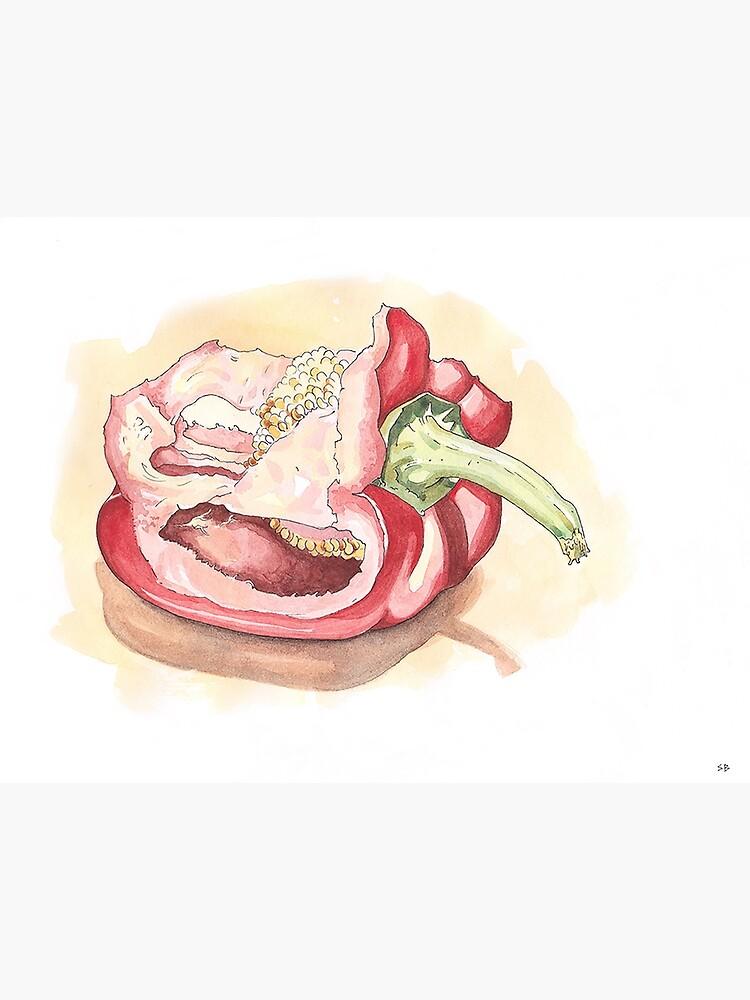 Red Pepper by stevebeadleart