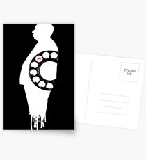 Hitchcock Dial M for Murder white Postcards