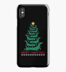 Funny Dachshund Wiener Christmas Tree Dog Lover Gift iPhone Case/Skin
