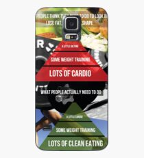 Fitness Inspirational Infographic Case/Skin for Samsung Galaxy