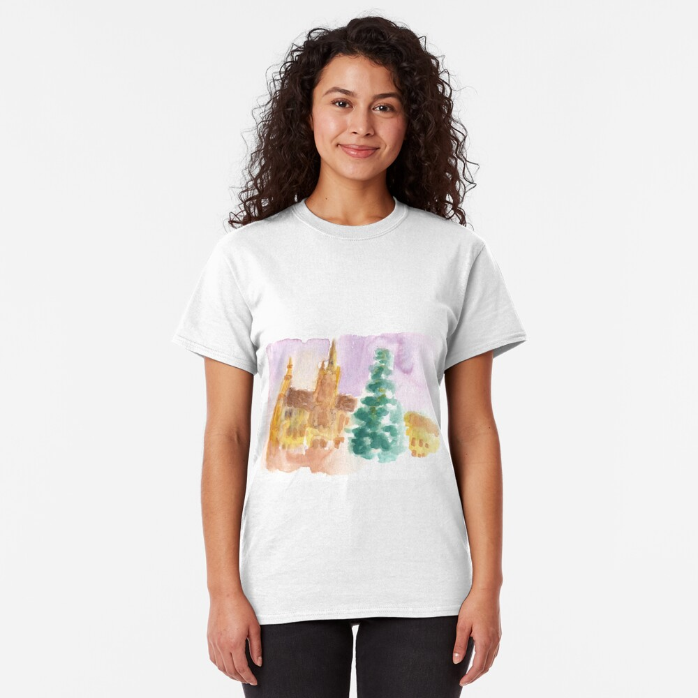 Grand Place at Christmas Classic T-Shirt