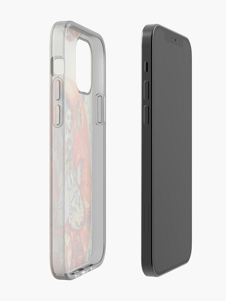 Alternate view of Ballena codorniz iPhone Case & Cover
