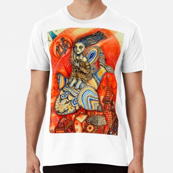 Ballena codorniz Camiseta premium