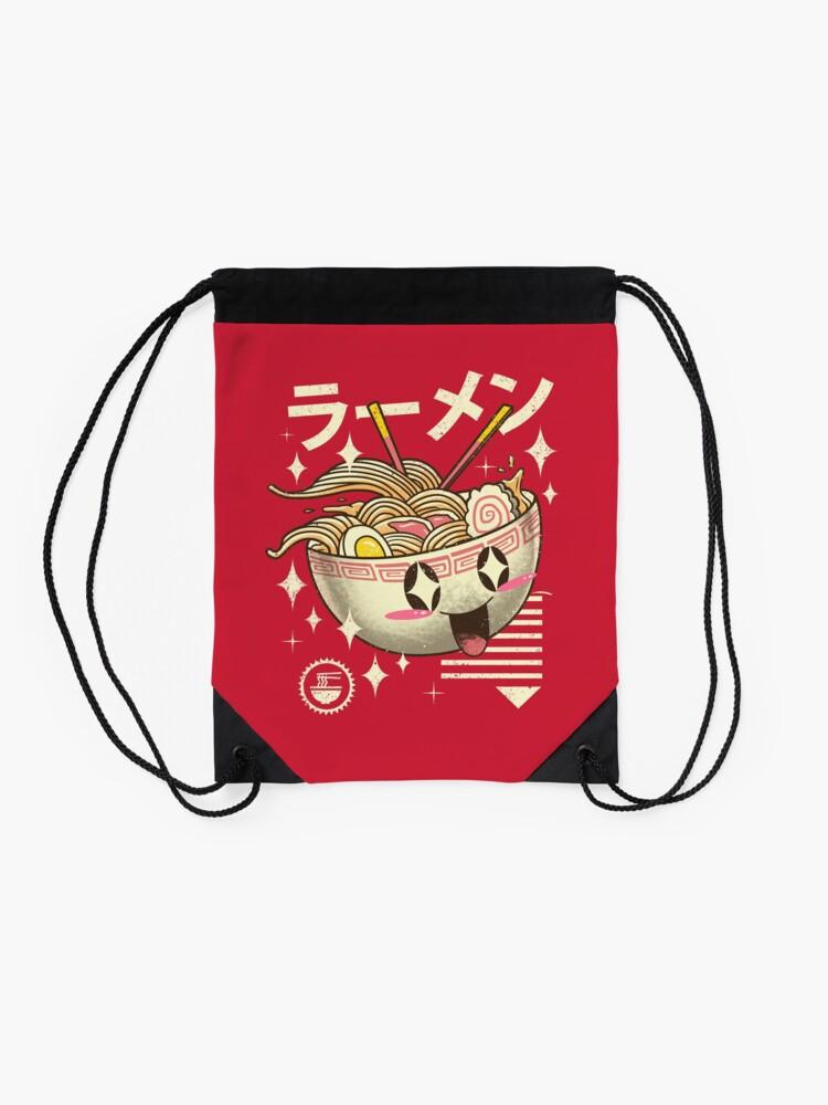 Alternate view of Kawaii Ramen Drawstring Bag