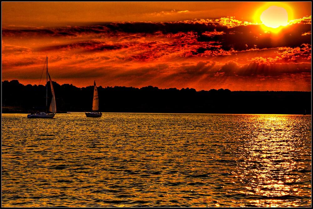 Sunset by Branko  Marinic