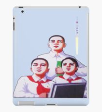 DPRK North Korean Students and a Rocket iPad Case/Skin