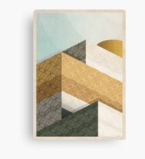 Library In Tangent Canvas Print