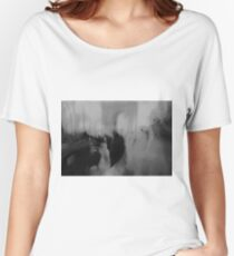 Couple kissing in street Arc de Triomphe Paris Champs Elysees Lomo LCA lomographic analog film photo Women's Relaxed Fit T-Shirt