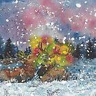 « C'est un joyeux noël dans la lande enneigée » par Stiopic