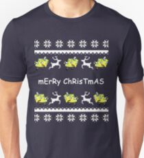 Mocking Spongebob Christmas Sweater Unisex T-Shirt