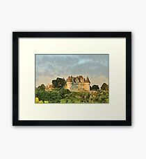 Chateau Monbazillac Framed Print