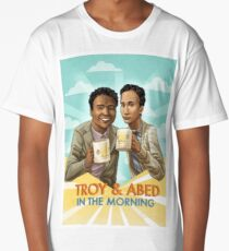 troy and abed in the morning Long T-Shirt