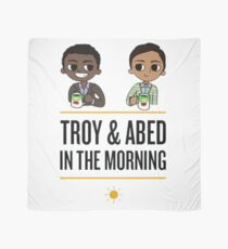 troy and abed in the morning Scarf