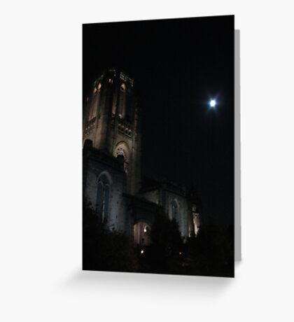 Tower light Greeting Card