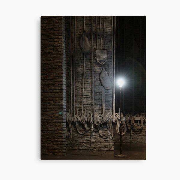 Ghost Light - Broadway Stage Canvas Print