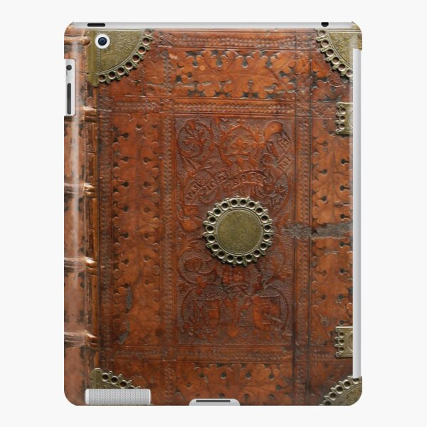 Ancient leather & brass book cover, Nuremberg 1477 iPad Snap Case
