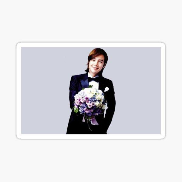 Jang Keun Suk with Flowers Sticker