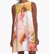 Bouquet A-Line Dress