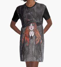 Ingwer Hexe T-Shirt Kleid