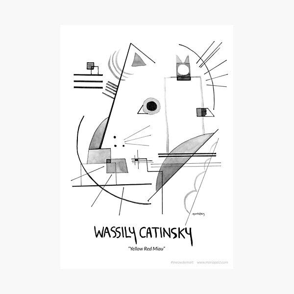 #meowdernart - Wassily Catinsky Photographic Print