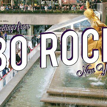 Vintage 30 Rock Postcard by gpunch