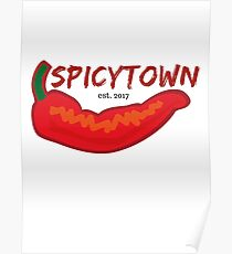 Spicy Town Poster