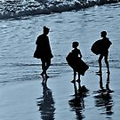 Silhouette Family by Stephen Burke