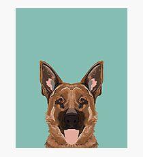Skylar - German Shepherd gifts for dog people dog lover gifts german shepherd owners perfect gifts Photographic Print