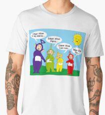 Edgar Allen Poe Comedy Men's Premium T-Shirt
