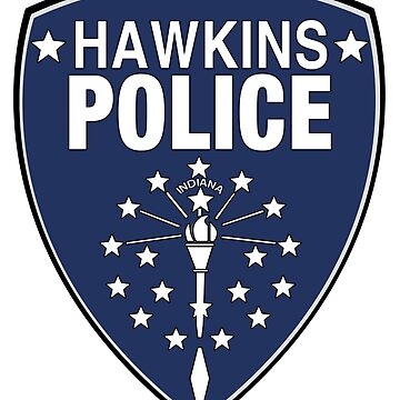 Stranger Things - Hawkins Police Department by PearShaped