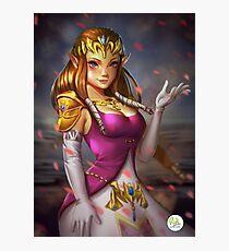 Princess Zelda Nintendo Fanart DidiEsmeralda Photographic Print