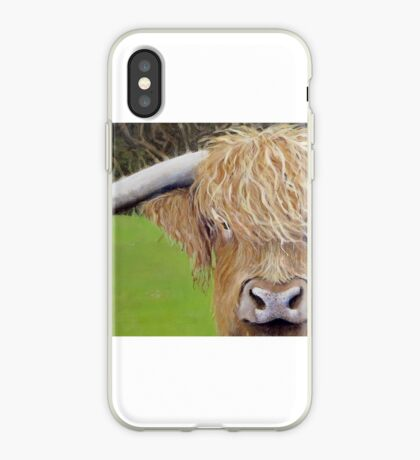 Hamish the Highland Coo iPhone Case