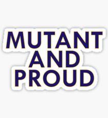 Mutant Pride Sticker