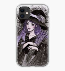 Lavendel Hexe iPhone-Hülle & Cover