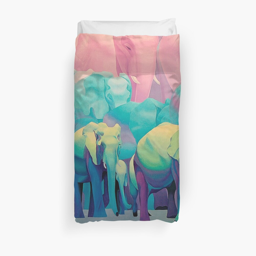 Best Wishes 1. (original is in private collection) Duvet Cover