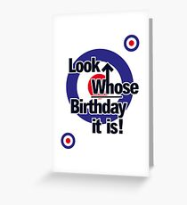 Mod Target Greeting Cards Redbubble