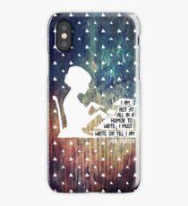 Jane Austen Writing Quote iPhone Case/Skin