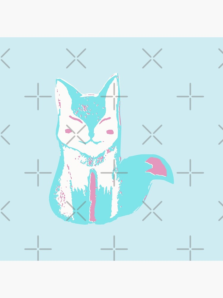 Icy Blue Fox by whya