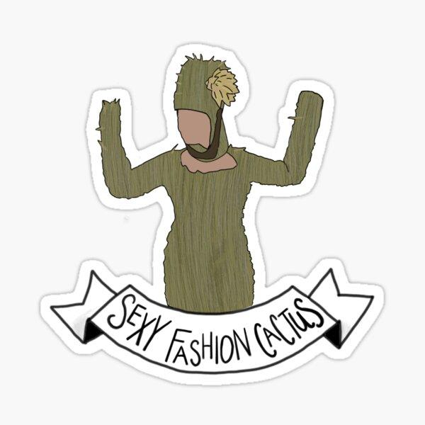 Crazy Ex Girlfriend Sexy Fashion Cactus Sticker