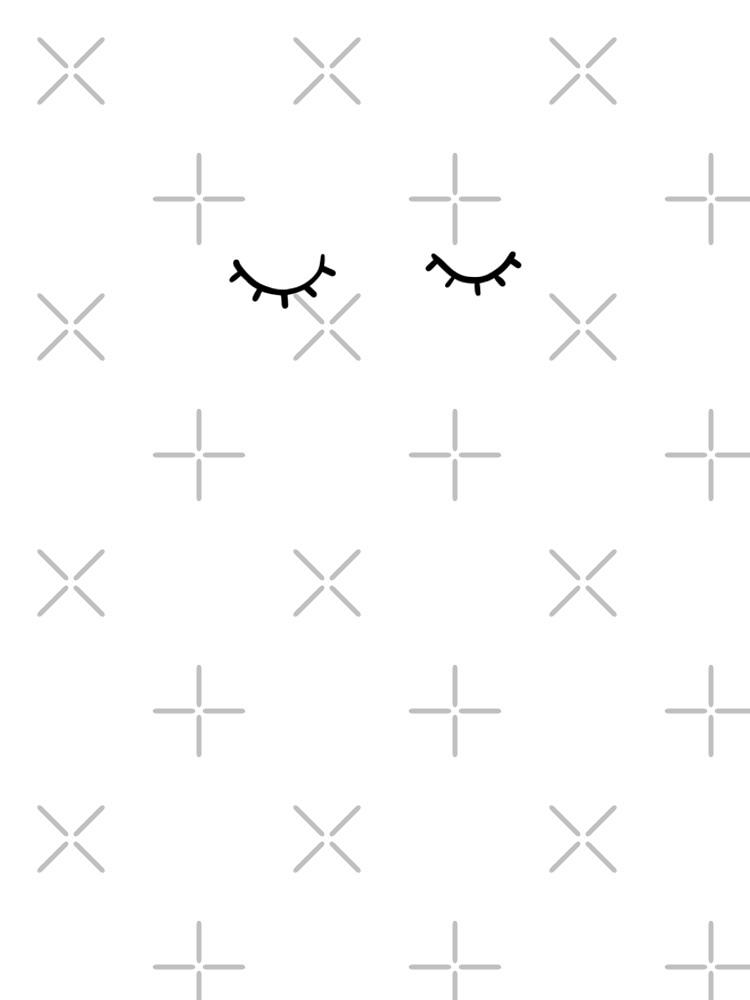 Geschlossene Augen, nur Wimpern von bigmoments
