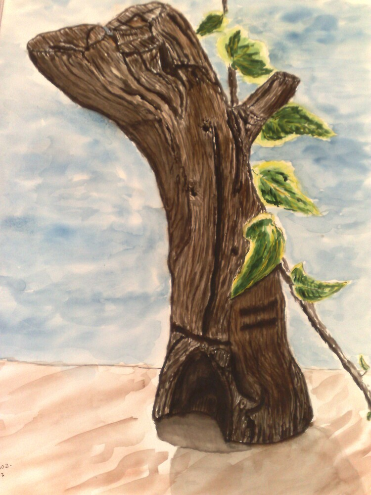 Tree stump . by zangi12