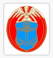 Coat of arms of Dragør, Denmark Sticker