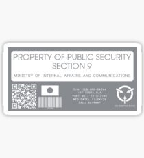 Property of Section 9 GITS Sticker