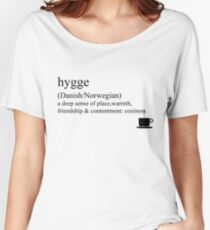 Hygge- Danish/Norwegian, Statement Tees & Accessories Women's Relaxed Fit T-Shirt