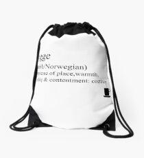 Hygge- Danish/Norwegian, Statement Tees & Accessories Drawstring Bag